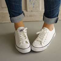 Stolen Moments Canvas Shoes