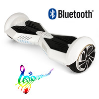 White Lambo HoverBoard scooter V5