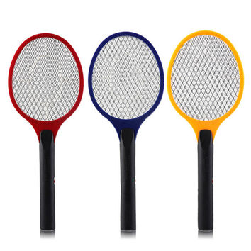 Net Dry Cell Hand Racket Electric Swatter Home Garden Pest Control Insect Bug Bat Wasp Zapper Fly Mosquito Killer Hot Sale