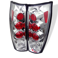 Chevy Avalanche 02-06 Euro Style Tail Lights - Chrome