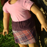 """American Girl Doll Clothes, 18"""" Doll Clothes- Corduroy and Tweed Skirt - Edit Listing - Etsy"""