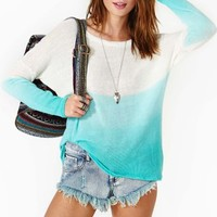 Into The Blue Knit