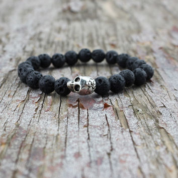 Shiny Hot Sale New Arrival Awesome Great Deal Stylish Gift Accessory Skull Yoga Bracelet [6464827905]