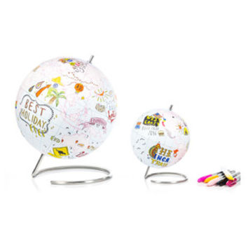 So into this design on Fab! Journal Grid Globe #FabForAll