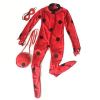 costume lady bug kids costumes girls sexy children girl spandex miraculous ladybug cat noir adult romper halloween fancy dress