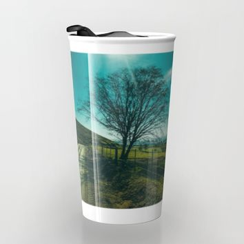 The Walk Home Travel Mug by Mixed Imagery