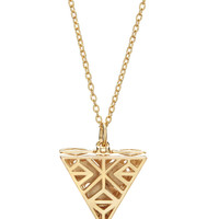 Tri-Point Necklace - Gold