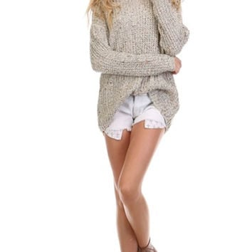 Lets Get Cozy Knit Sweater - Restocked