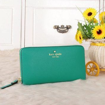 DCCKXT7 Kate Spade' Women Purse Fashion Simple Multifunction Zip Long Section Wallet Handbag