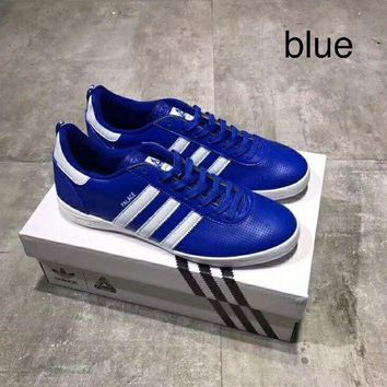 CREYD5W Adidas Palace Indoor leather punching casual shoes!