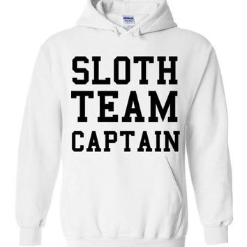 Sloth Team Captain Hoodie