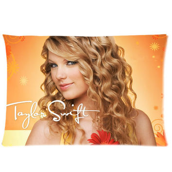 "Taylor Swift Pillowcase Covers Standard Size 20""x30"" CC4023"