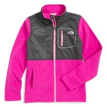 The North Face Girl's 'Glacier' Track Jacket,
