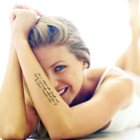 Customizable Personal Quote Arm Temporary Tattoo Pack