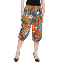 Summer Women Casual Knee-Length Pants Female Women Pants Short Trousers Plus size  harem pants