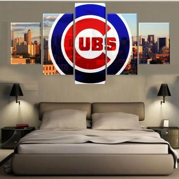 5 Panels Modular Custom Made Picture Home Room Decor Picture Canvas Paintings on Canvas Wall Art for Home Decorations Wall