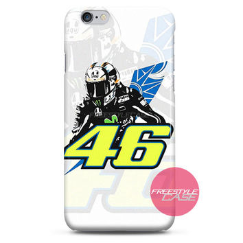 Valentino Rossi VR46 MotoGP Art 2015 iPhone Case 3, 4, 5, 6 Cover