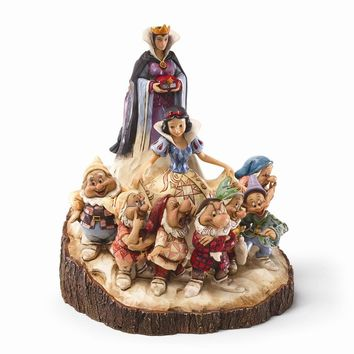 Disney Traditions Wood Carved Snow White Figurine