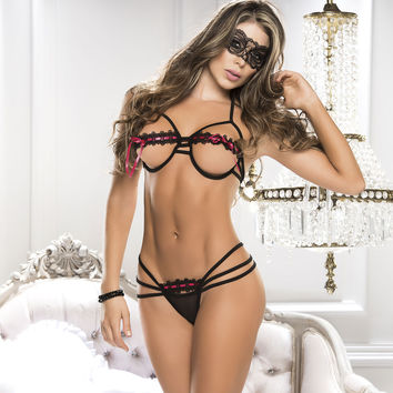 Sassy Bra And Panty Set-Lingerie