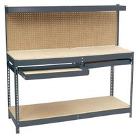 Edsal, 72 in. W x 24 in. D Workbench with Storage, MRWB-6 at The Home Depot - Mobile