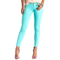 "REFUGE ""SKIN TIGHT"" COLORED DENIM LEGGINGS"