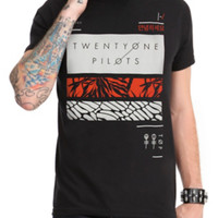 Twenty One Pilots Rectangles T-Shirt