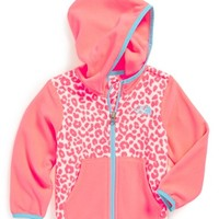 The North Face Infant Girl's 'Glacier' Fleece Hoodie
