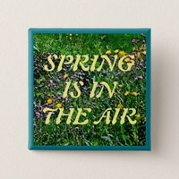 SPRING IS IN THE AIR BUTTON