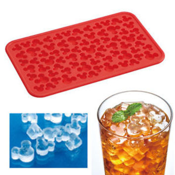 Disney Mickey Mouse Ice Tray Mini Cube Chocolate Candy Mold Cute Freeze Silicone