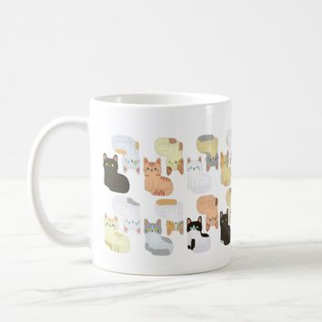 Patterns Cat Coffee Mug