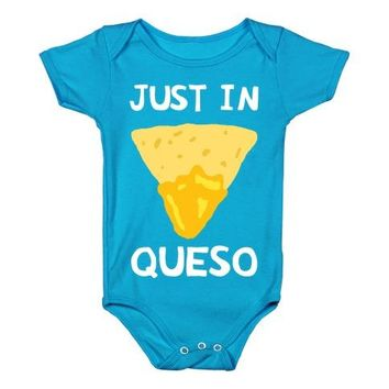 Just In Queso Infant One Piece