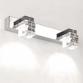 Hot LED 3W Waterproof Crystal Mirror Picture Wall Lights 5730 Bathroom Lamp Home  New