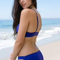L*Space Swim - Estella Bottom | Sapphire