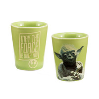 Yoda Ceramic Shot Glass