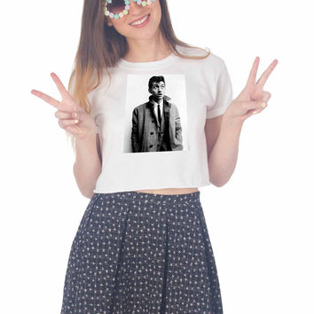 Alex Turner for Another Man For Womens Crop Shirt ***