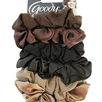Goody Ouchless Hair Scrunchies - 6 Pcs.