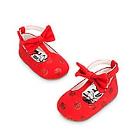 Minnie Mouse Glitter Shoes for Baby