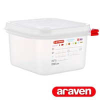 03024 GN1/6 PP airtight containers 1.7L