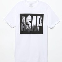 A$AP Worldwide Knockout T-Shirt - Mens Tee - White