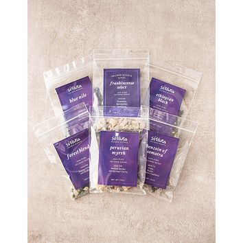 Sivana Pure Incense Resin - Variety Pack