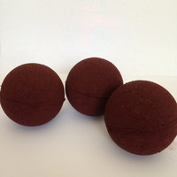 Leave Me Alone! Merlot Wine scented Bath Bomb/Deep Red/Burgundy/Bath Fizzies