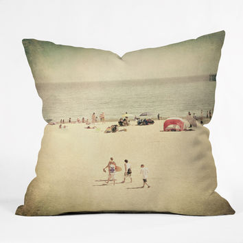 Shannon Clark Boys Of Summer Throw Pillow