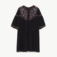 PLUMETIS EMBROIDERED DRESS DETAILS