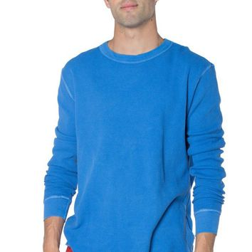 Daniel Men's Fitted Long Sleeve Thermal Lounger T-Shirt