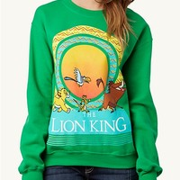 Lion King Sun Retro Sweatshirt