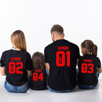 Halloween Zombie Shirts, Family Halloween Shirts, Mommy daddy baby halloween shirts, Zombie shirts, Zombie family shirts, Halloween shirt