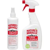 Nature's Miracle Small Animal Cage Maintenance Duo