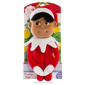 Elf on the Shelf Plushee Pals Boy Elf - Dark