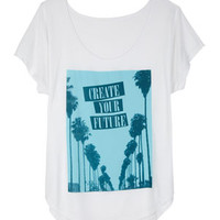 Create Your Future Tee - White