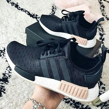 Adidas NMD R1 Fashion Women Men Casual Breathable Running Sneakers Sport Shoes